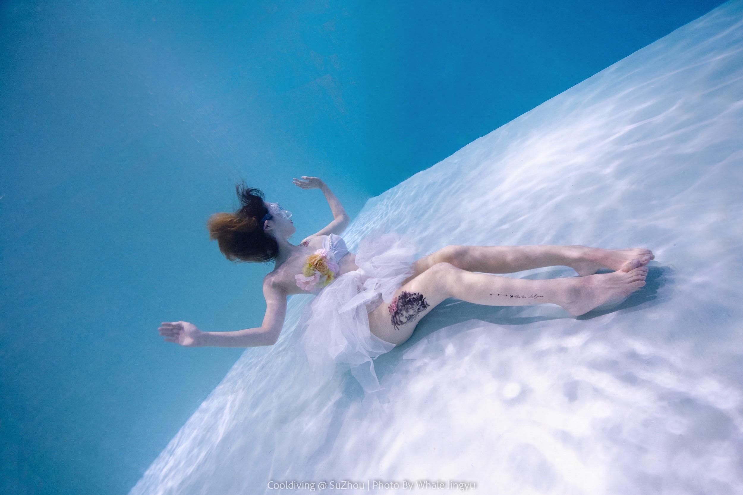 自由潜艺术照 照片
