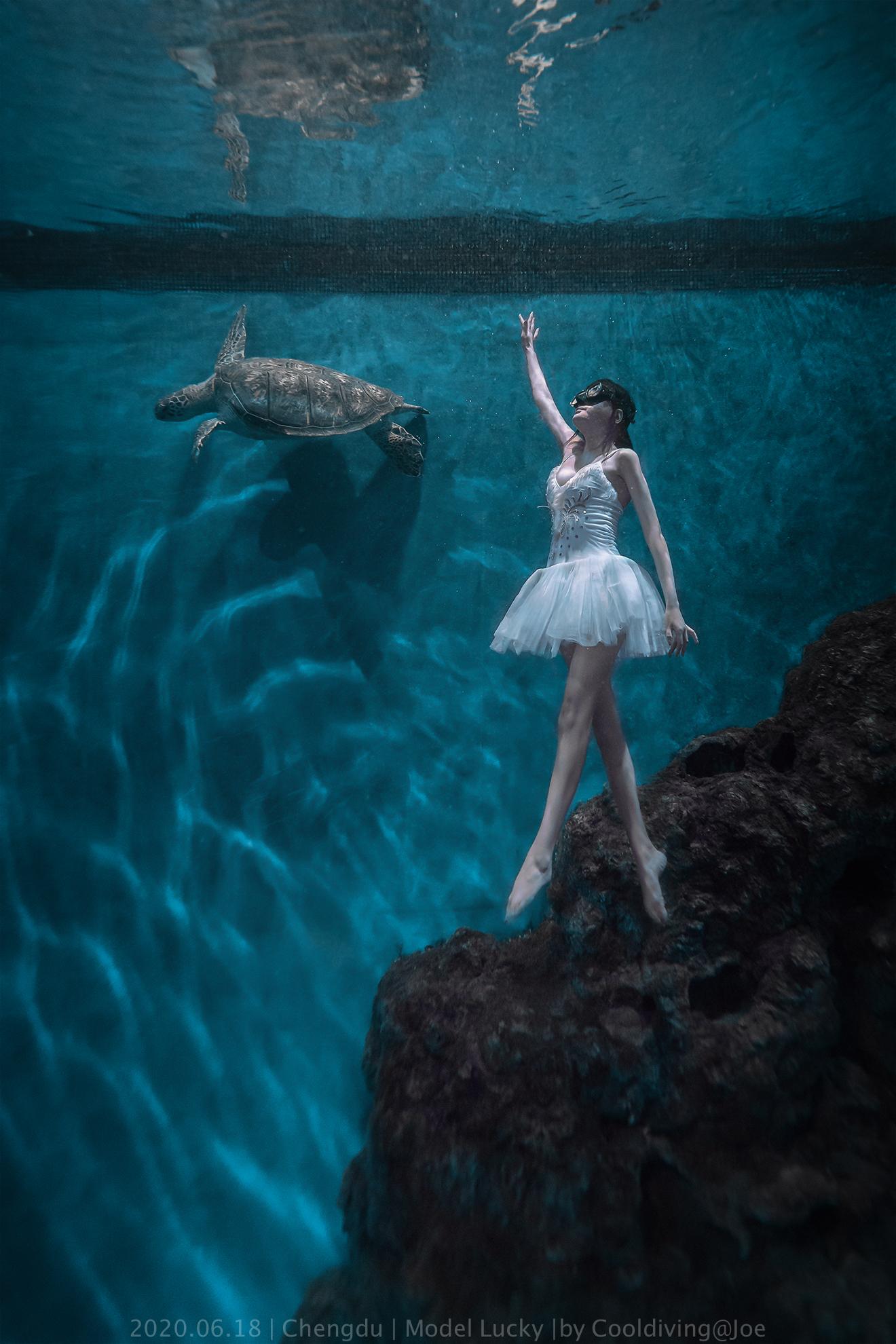 水下芭蕾,艺术照片,小姐姐美照,摆拍