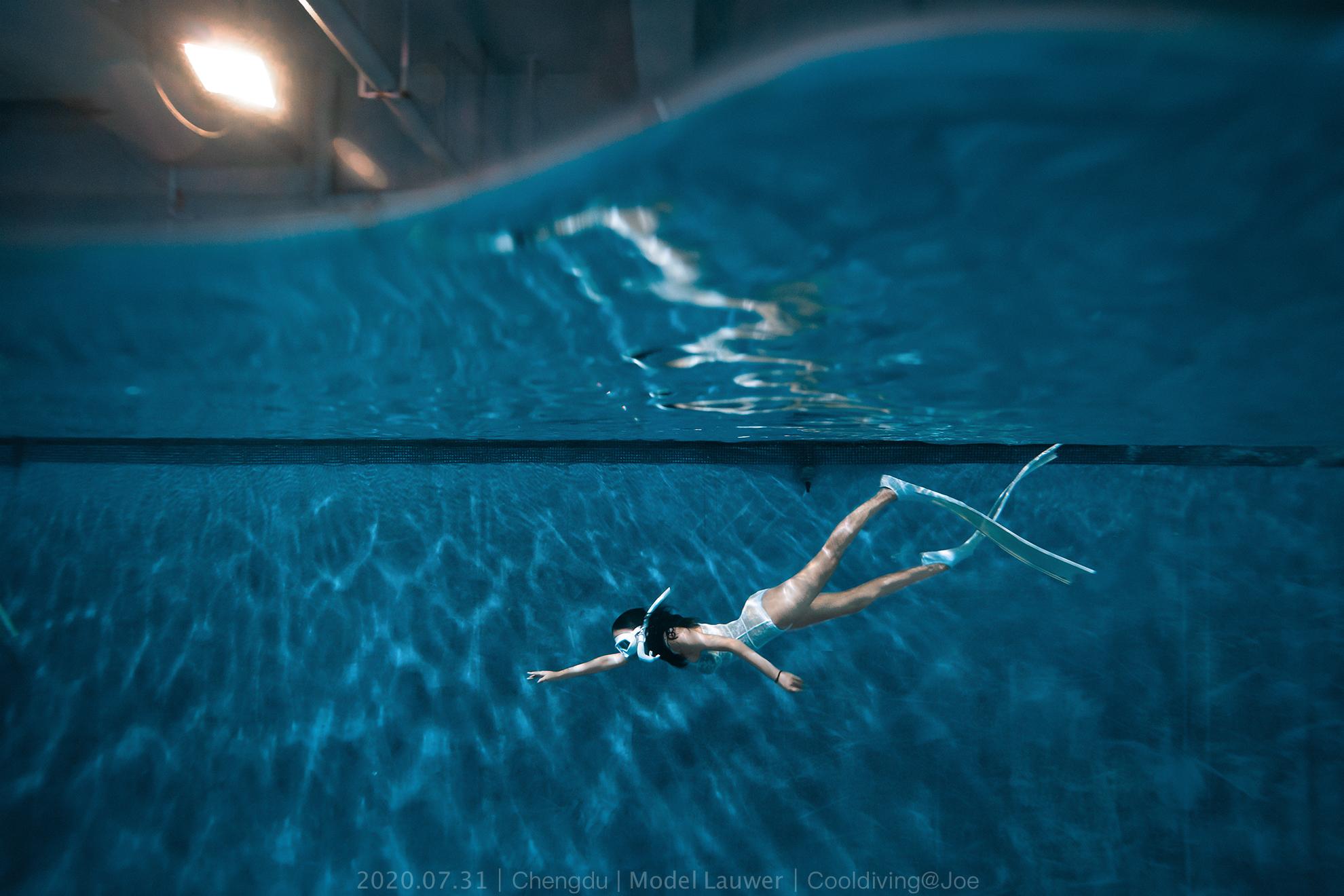 7.31成都自由潜拍摄 Model Lauwer